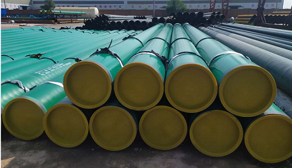 3LPE Coated Pipe for Qatar Client